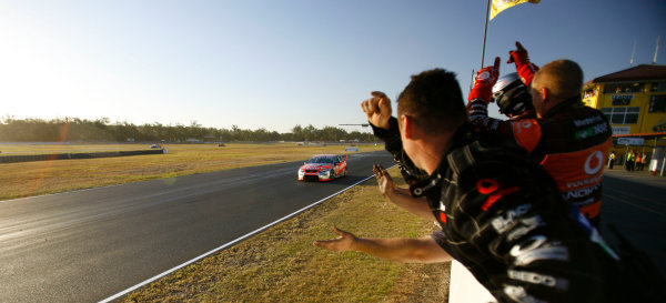 Queensland Raceway, Austrlia.22nd - 23rd August 2009.Car 1,Falcon FG,Ford,Jamie Whincup,Triple Eight Racing.World Copyright: Mark Horsburgh/LAT Photographicref: 1-Whincup-EV08-09-03911