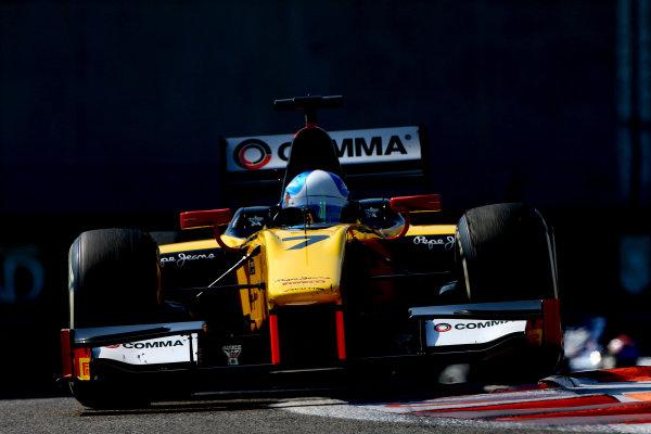 Jolyon Palmer (GBR) DAMS. GP2 Series, Rd11, Yas Marina Circuit, Abu Dhabi, UAE, 21-23 November 2014.