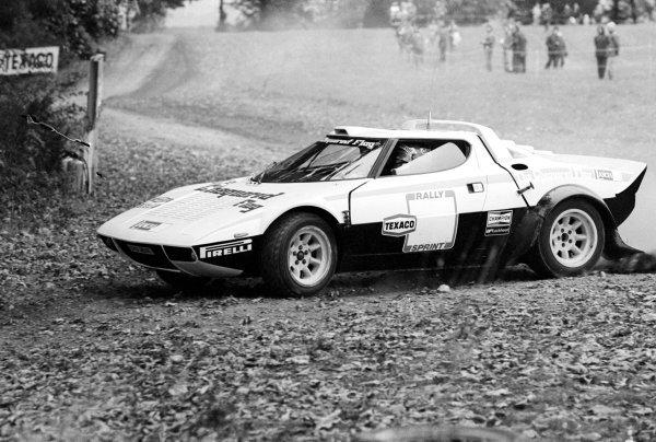 Patrick Depailler (FRA) finished fifth in a Lancia Stratos.Texaco Rallysprint, Donington Park, England, 22 October 1978.