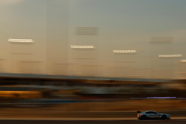 2015 FIA World Endurance Championship Bahrain 6-Hours Bahrain International Circuit, Bahrain Saturday 21 November 2015. Francesco Castellacci, Roald Goethe, Stuart Hall (#96 GTE AM Aston Martin Racing Aston Martin Vantage V8). World Copyright: Alastair Staley/LAT Photographic ref: Digital Image _R6T9972