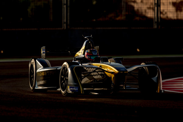 2016/2017 FIA Formula E Championship. Marrakesh ePrix, Circuit International Automobile Moulay El Hassan, Marrakesh, Morocco. Saturday 12 November 2016. Jean-Eric Vergne (FRA), Techeetah, Spark-Renault, Renault Z.E 16.  Photo: Zak Mauger/LAT/Formula E ref: Digital Image _L0U6287