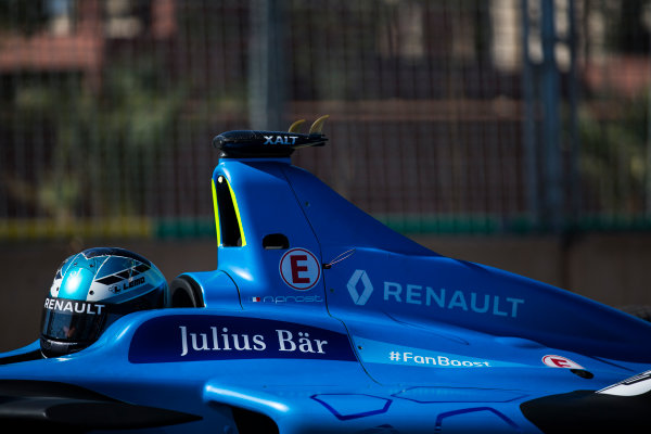 2016/2017 FIA Formula E Championship. Marrakesh ePrix, Circuit International Automobile Moulay El Hassan, Marrakesh, Morocco. Nicolas Prost (FRA), Renault e.Dams, Spark-Renault, Renault Z.E 16.  Saturday 12 November 2016. Photo: Sam Bloxham/LAT/Formula E ref: Digital Image _SBB6986