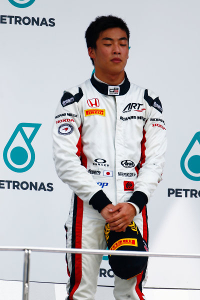 Nirei Fukuzumi (JPN, ART Grand Prix)  2016 GP3 Series Round 8 Sepang International Circuit, Sepang, Malaysia. Sunday 2 October 2016  Photo: Zak Mauger/GP3 Series Media Service ref: Digital Image _X0W9261