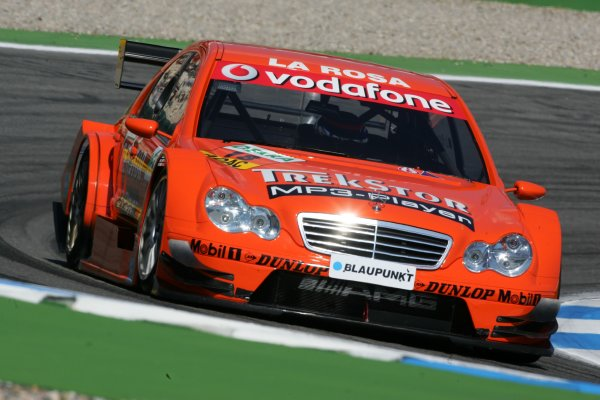 2006 DTM Championship.Round 1, Hockenheimring. 7th - 9th April 2006.Daniel La Rosa (GER), Mücke Motorsport, AMG-Mercedes C-KlasseWorld Copyright: Miltenburg/LATref: Digital Image Only