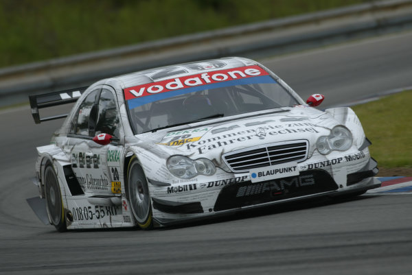 2005 DTM (German Touring Car) ChampionshipBrno, Czech Republic 4-5th June 2005 Bernd Schneider (AMG-Mercedes C-Klasse) World Copyright: Andrew Ferraro/LAT Photographic Ref: Digital Image Only.