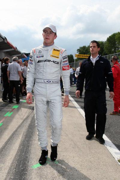 Paul Di Resta (GBR), AMG Mercedes, took pole position.DTM, Rd7, Brands Hatch, England, 3-5 September 2010.World Copyright: LAT Photographicref: dne1004se250