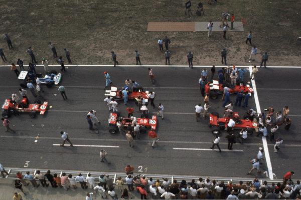 German Grand Prix, Hockenheim, 31 Jul - 2 Aug 70World © LAT PhotographicTel: +44(0) 181 251 3000Fax: +44(0) 181 251 3001