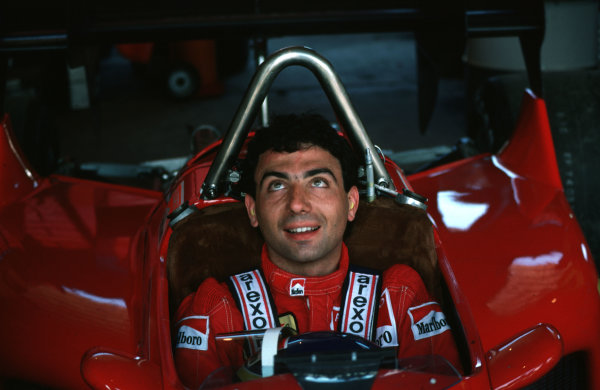 Formula 1 World Championship.Michele Alboreto.World - LAT Photographic