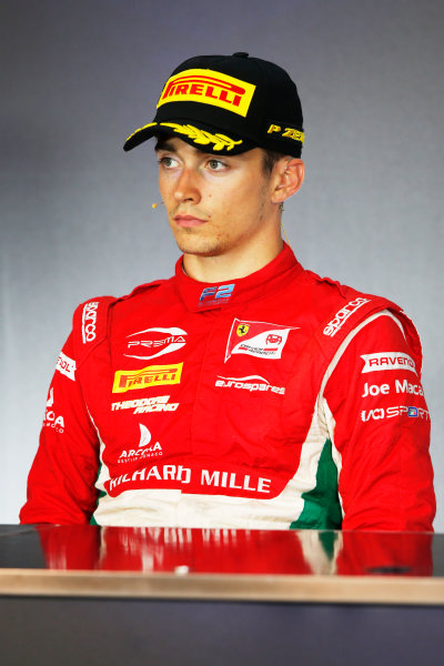 Red Bull Ring, Spielberg, Austria. Saturday 8 July 2017 Charles Leclerc (MCO, PREMA Racing)   Photo: Portlock/FIA Formula 2 ref: Digital Image _L5R3815