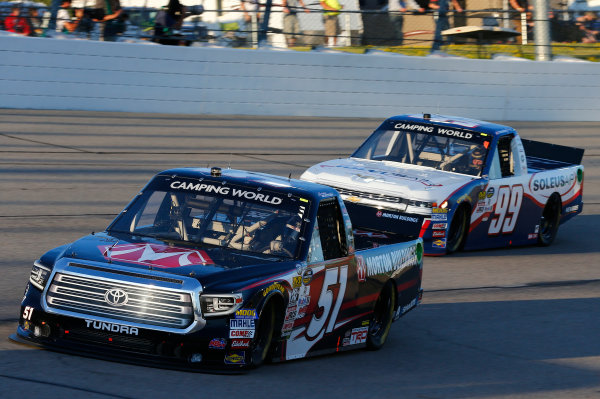 NASCAR Camping World Truck Series M&M?s 200 presented by Casey?s General Store Iowa Speedway, Newton, IA USA Friday 23 June 2017 Harrison Burton, Morton Buildings Toyota Tundra World Copyright: Brett Moist LAT Images