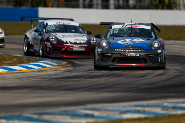 2017 Porsche GT3 Cup USA Sebring International Raceway, Sebring, FL USA Friday 17 March 2017 19, Will Hardeman, GT3P, USA, 2017 Porsche 991 World Copyright: Jake Galstad/LAT Images ref: Digital Image lat-galstad-SIR-0317-14859