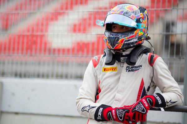 Circuit de Barcelona Catalunya, Barcelona, Spain. Monday 13 March 2017. Artem Markelov (RUS, RUSSIAN TIME). Photo: Alastair Staley/FIA Formula 2 ref: Digital Image 580A9050