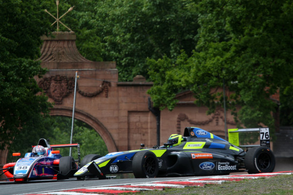 2017 British F4 Championship Oulton Park, 20th-21st May 2017, Linus Lundqvist (SWE) Double R Racing British F4 World copyright. JEP/LAT Images