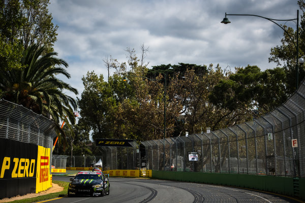 2017 Supercars Championship, Australian Grand Prix Support Race, Albert Park, Victoria, Australia. Thursday March 23rd to Sunday March 26th 2017. Cameron Waters drives the #6 Monster Energy Ford Falcon FGX. World Copyright: Daniel Kalisz/LAT Images Ref: Digital Image 230217_VASCAUSGP_DKIMG_0312.JPG