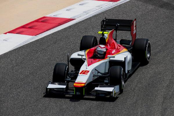2017 FIA Formula 2 Round 1. Bahrain International Circuit, Sakhir, Bahrain.  Friday 14 April 2017. Stefano Coletti (MON, Campos Racing)  Photo: Zak Mauger/FIA Formula 2. ref: Digital Image _56I9228