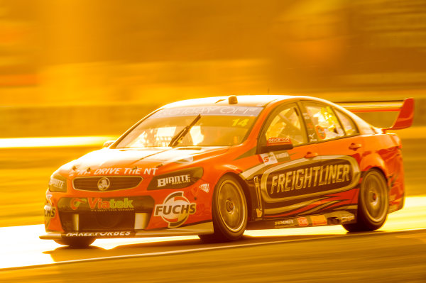 2016 V8 Supercar Championship Round 5.  Winton SuperSprint, Winton Raceway, Victoria, Australia. Friday 19th May to Sunday 21st May 2016. Tim Slade drives the #14 Freightliner Racing Holden Commodore VF. World Copyright: Daniel Kalisz/LAT Photographic Ref: Digital Image 200516_V8SCR5_WINTON_DKIMG_1047.JPG