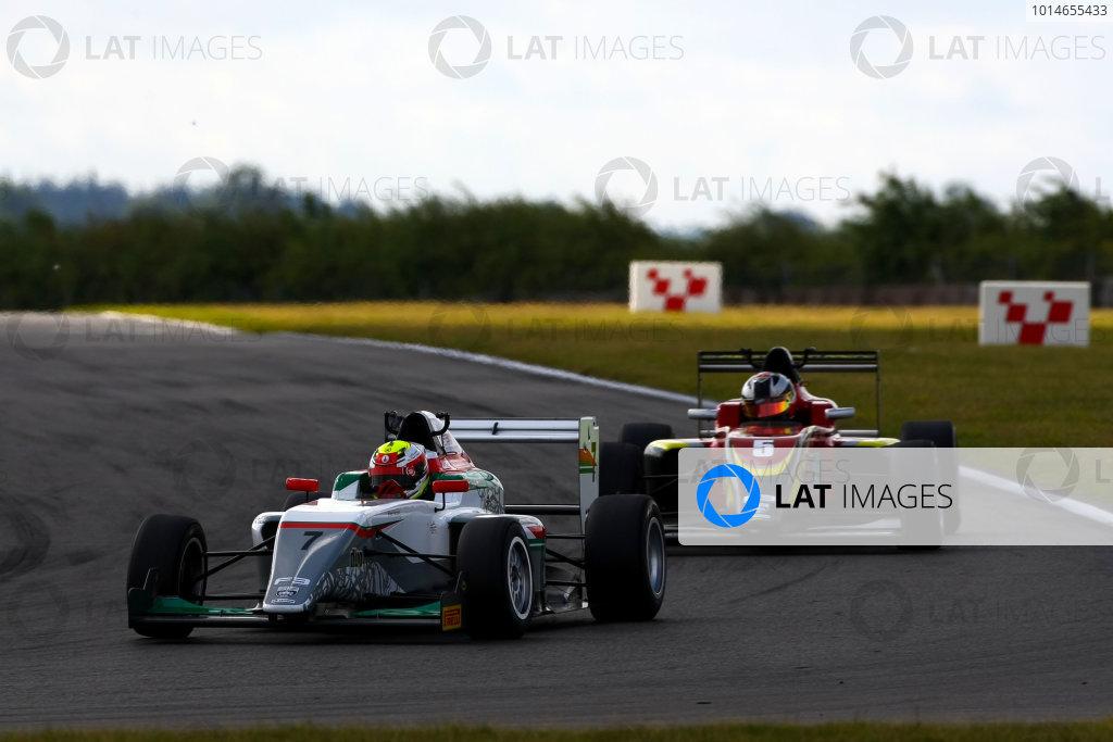 2016 BRDC F3 Championship, Snetterton, Norfolk. 6th - 7th August 2016. Al Faisal Al Zubair (OMA) Fortec Motorsports BRDC F3. World Copyright: Ebrey / LAT Photographic.