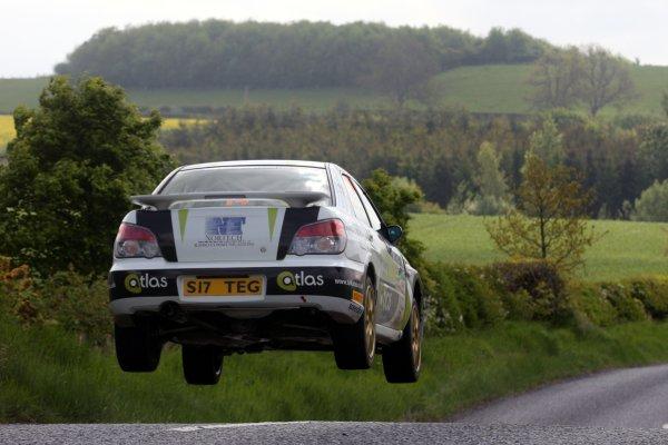 2008 British Rally Championship,Jim Clark Rally, 23rd-25th May 2008,Mark Higgins/Rory Kennedy Subaru ImprezaWorld Copyright: Ebrey/LAT Photographic.