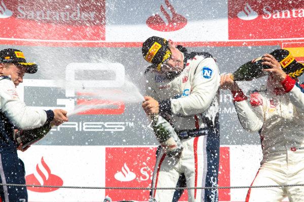 2013 GP3 Series. Round 1.  Circuit de Catalunya, Barcelona, Spain.  12th May Sunday Race 02 Aaro Vainio (  Kevin Korjus (  Patric Niederhauser (  Portrait  World Copyright: Malcolm Griffiths/GP3 Media Service.  Ref: Digital ImageC76D5833.JPG