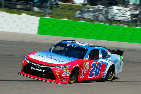 31 July - 1 August, 2015, Newton, Iowa USA Kenny Wallace, US Cellular Toyota Camry ?2015, Russell LaBounty LAT Photo USA