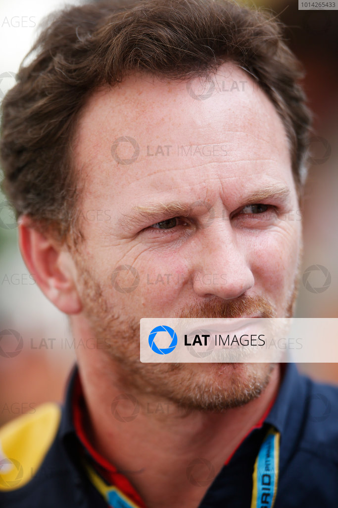 Interlagos, Sao Paulo, Brazil. Friday 7 November 2014. Christian Horner, Team Principal, Red Bull Racing. World Copyright: Charles Coates/LAT Photographic. ref: Digital Image _J5R2993