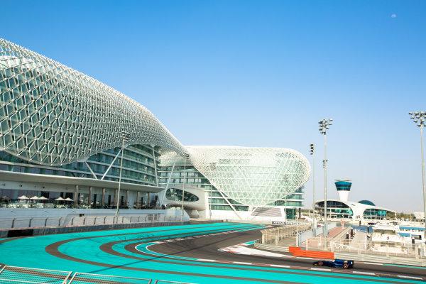 2014 GP2 Series Test 1  Yas Marina Circuit, Abu Dhabi, UAE.  Wednesday 12 March 2014. Artem Markelov (RUS) RT Russian Time  Photo: Malcolm Griffiths/GP2 Series Media Service ref: Digital Image A50A4736