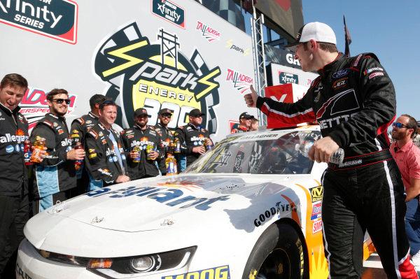 #24: Kaz Grala, JGL Racing, Ford Mustang NETTTS #23: Spencer Gallagher, GMS Racing, Chevrolet Camaro Allegiant