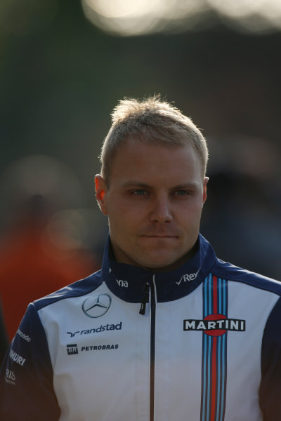 Shanghai International Circuit, Shanghai, China. Friday 10 April 2015. Valtteri Bottas, Williams F1. World Copyright: Glenn Dunbar/LAT Photographic. ref: Digital Image _W2Q2681