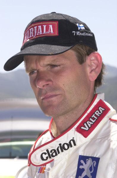 2001 World Rally Championship.Acropolis Rally June 14-17, 2001.Marcus Gronholm retires again!.Photo: Ralph Hardwick/LAT