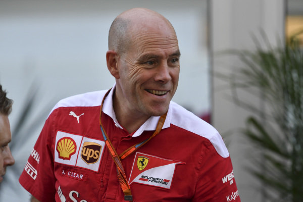 Jock Clear (GBR) Ferrari Chief Engineer at Formula One World Championship, Rd18, United States Grand Prix, Qualifying, Circuit of the Americas, Austin, Texas, USA, Saturday 22 October 2016.