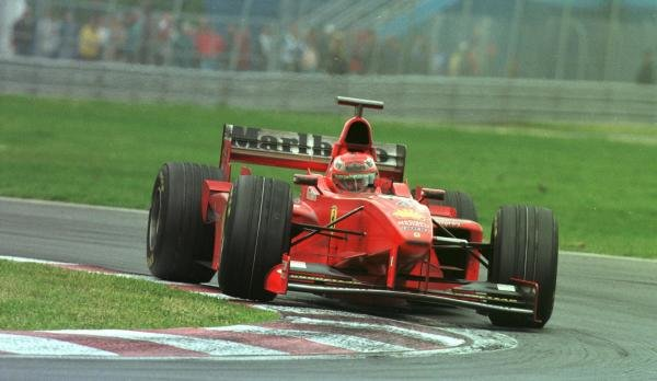 1998 Canadian Grand Prix.Montreal, Quebec, Canada. 5-7 June 1998.Eddie Irvine (Ferrari F300) 3rd position.World Copyright - Steve Etherington/LAT Photographic