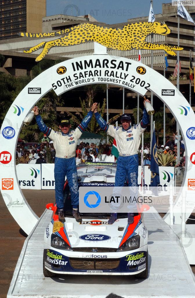 Znalezione obrazy dla zapytania Rally Safari Kenya wrc 2002 winner
