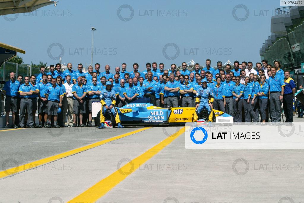 2003 Malaysian Grand Prix - Sunday race,