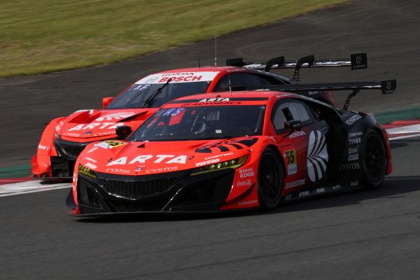 Shinichi Takagi & Ren Sato, ARTA Honda NSX GT3, 3rd in GT300