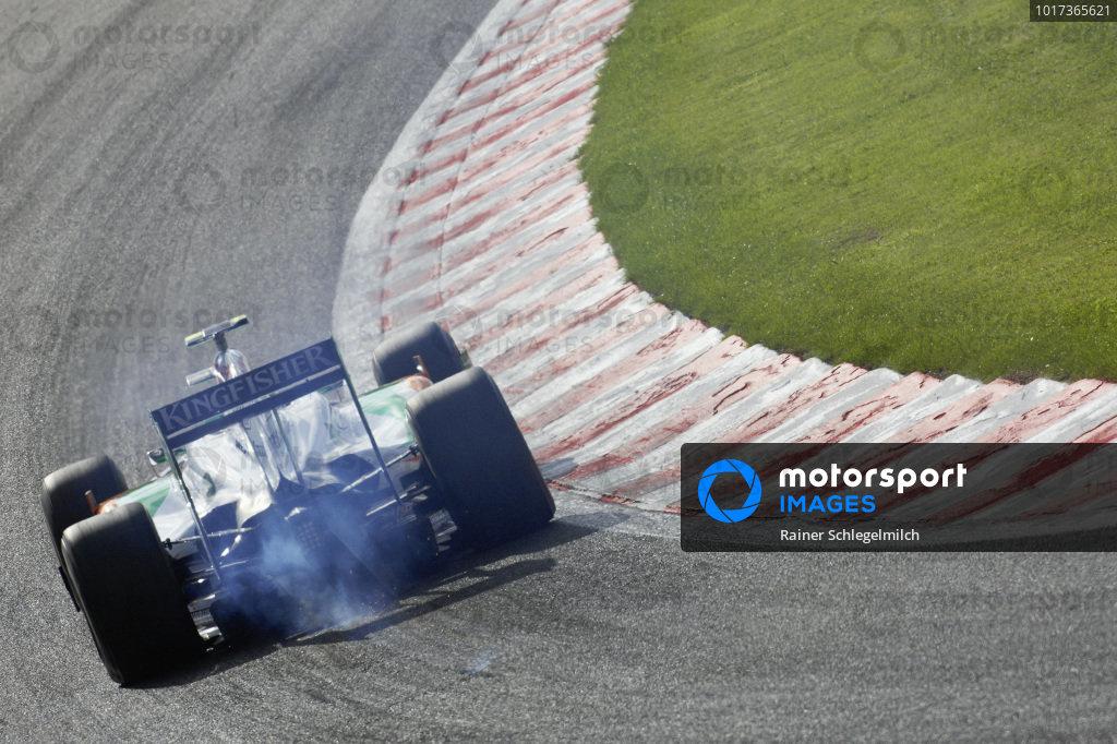 Giancarlo Fisichella, Force India VJM02 Mercedes.