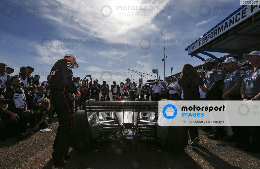 Will Power, Team Penske Chevrolet wins the NTT P1 award