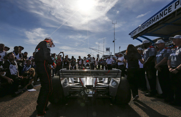 Will Power, Team Penske Chevrolet wins the NTT P1 award