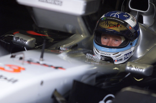 2001 Austrian Grand Prix.A1-Ring, Zeltweg, Austria.11-13 May 2001.Mika Hakkinen (McLaren Mercedes).World Copyright: Steve Etherington/LAT PhotographicRef:18mb Digital Image