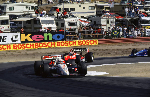 1993 CART IndyCar SeriesLaguna Seca, CA. USA. 3rd October 1993Nigel Mansell, Lola T93/00 Cosworth