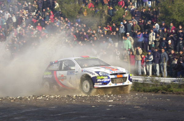 2001 World Rally Championship. ArgentinaMay 3rd-6th, 2001Colin McRae on stage 9.Photo: Ralph Hardwick/LAT