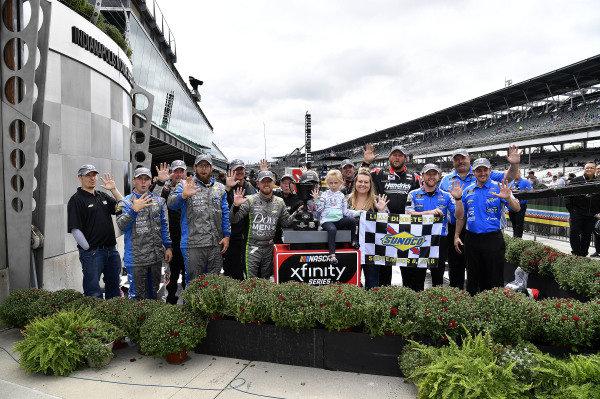 #7: Justin Allgaier, JR Motorsports, Chevrolet Camaro Dove Men + Care wins