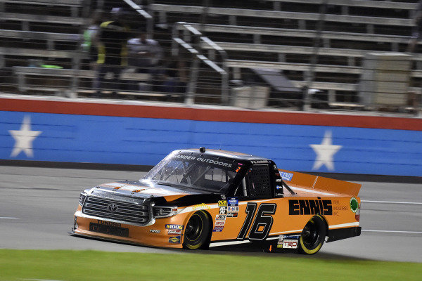 #16: Austin Hill, Hattori Racing Enterprises, Toyota Tundra Ennis Steel