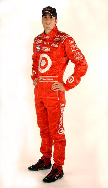 2003 IRL Test in the West.California Speedway, Fontana, California, USA.3-4 February 2003. Tomas Scheckter (Chip Ganassi Racing).World Copyright - Walt Kuhn/LAT Photographic