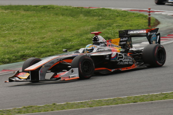 Hiroaki Ishiura, number one JMS P.MU/CERUMO・INGING SF14 Toyota, second position.