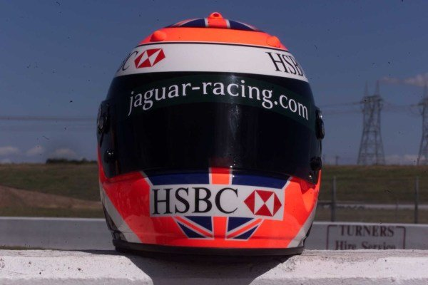 2000 Australian Grand Prix, Albert Park, Melbourne, Australia.Johnny Herbert Helmet LaunchWorld - LAT Photographic Tel: (0)208 251 3000Fax:(0)208 251 3001email: digital@latphoto.co uk