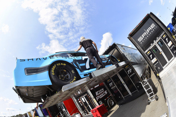 #77: Justin Haley, Spire Motorsports, Chevrolet Camaro Shavelogic