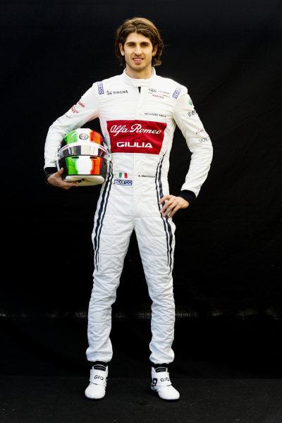 Official Portrait Antonio Giovinazzi, Alfa Romeo Racing