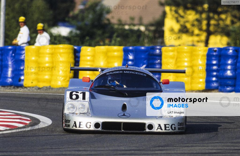 Mauro Baldi / Kenny Acheson / Gianfranco Brancatelli, Team Sauber Mercedes, Sauber Mercedes C9/88.
