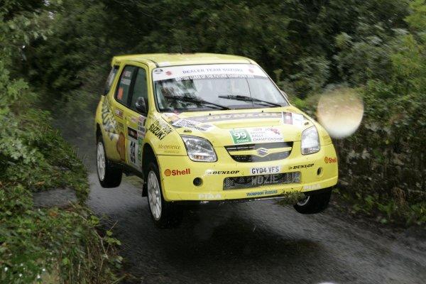 2006 British Rally ChampionshipUlster Rally, Armagh.2nd September 2006James WozencroftWorld Copyright - Ebrey/LAT Photographic