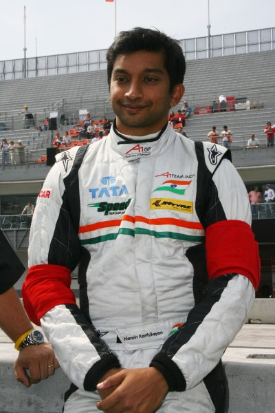 25.03 2007 Mexico City, Mexico, Narain Karthikeyan, Driver of A1Team India - A1GP World Cup of Motorsport 2006/07, Round 9, Mexico City, Sunday Race 1 - Copyright A1GP - Free for editorial usage